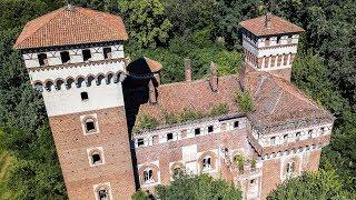 Abandoned Luxury Medieval Castle With Bizarre History - Urbex Lost Places Italy