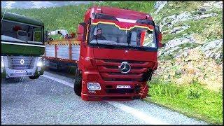 Accident pe drum.. Cursa de 900Km | ETS2 Multiplayer