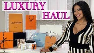 Luxury Haul - Louis Vuitton, Dior, Hermes, Prada - Stunning Dior Shoes!