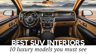 Top 10 Luxury SUVs with the Most Expensive Interior Designs in 2019