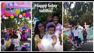 WOW 1ST BIRTHDAY NI BABY TALI SA ISANG LUXURY GARDEN RESORT GINANAP! PROUD PARENTS PAULEEN AND VIC