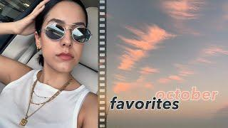 FALL FAVORITES ???? OCTOBER BEAUTY AND FASHION MONTHLY FAVES