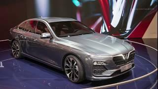 Vinfast Sedan LUX A2.0 Debut with BMW 5 Series  Platform