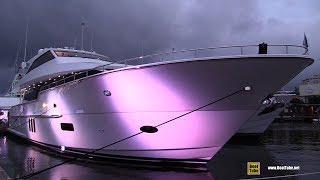 2018 Hatteras M 90 Panacera Luxury Yacht - Deck Interior Walkaround - 2018 Fort Lauderdale Boat Sh
