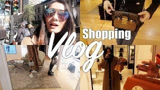 MONTREAL VLOG | LUXURY SHOPPING WITH FASHIONABLY AMY | LV DIOR HR