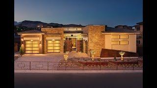 $1,900,000 Summerlin NV: Award-Winning Luxury Modern Single-Story Model Home | Silver Ridge 1
