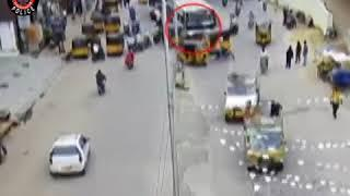 RTC Bus Vs Auto Accident ¦ Caught By CCTV in Tirupati ¦ Live Accidents in India