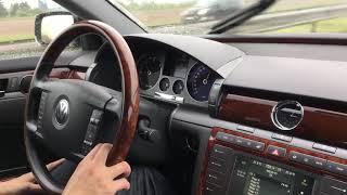 Volkswagen Phaeton - Noisy and bumpy road