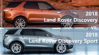 2018 Land Rover Discovery vs Discovery Sport (technical comparison)