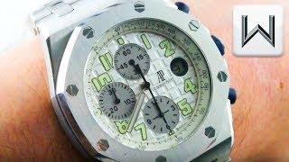 Audemars Piguet Royal Oak Offshore Chronograph 25721ST.OO.1000ST.07 Luxury Watch Review