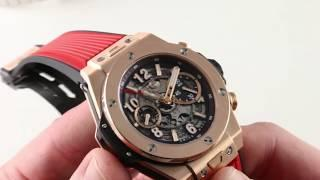 Hublot Big Bang Unico King Gold Chronograph 411.OX.1180.RX Luxury Watch Review