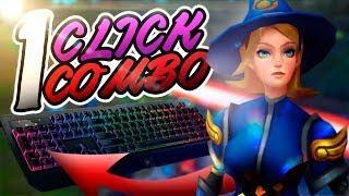 Tiro el COMBO DE LUX con 1 BOTON gracias al teclado razer blackwidow chroma v2