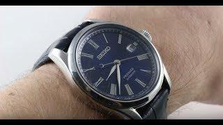 Seiko Presage Shippo Enamel Limited Edition SPB075 Luxury Watch Review