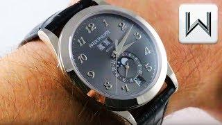 PATEK PHILIPPE 5396G-014 ANNUAL CALENDAR 2016 Baselworld Luxury Watch Review
