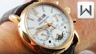 Patek Philippe 5402R-001 Split Seconds Perpetual Calendar Chronograph Luxury Watch Review