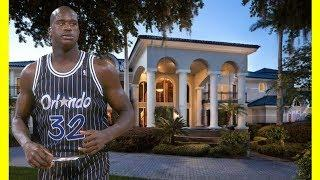 Shaquille O'Neal House Tour $28000000 Mansion Luxury Lifestyle 2018
