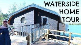 LUXURY LODGE HOME TOUR OF CENTER PARCS WATERSIDE LODGE  |  VACATION HOUSE TOUR  |  EMILY NORRIS