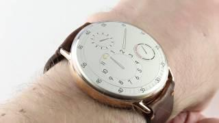 "Ressence Type 1 ""Mr. Porter"" T1PW Luxury Watch Review"