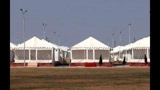 Kumbh mela: luxury tents for devotees