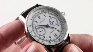 Longines Heritage Chronograph L2.800.4.23.2 Luxury Watch Review