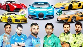 India ???????? Vs Pakistan ???????? Cricket Players Luxurious Cars ✮
