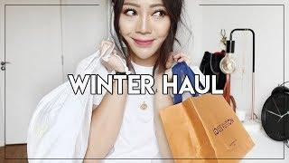 WINTER HAUL! TWO LUXURY BUYS - A NEW BAG, WALLET, JUMPERS AND COATS!