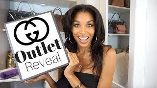 GUCCI MARMONT OUTLET UNBOXING & TJ MAXX?? |  Sawgrass Mills Luxury Haul  | KWSHOPS