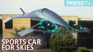 This is what luxury flying car concept design looks like