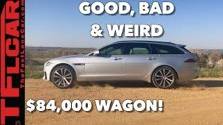 Here's What's Good, Bad and Weird about the 2018 Jaguar XF S Sportbrake