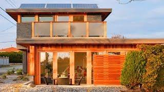 Beautiful And Luxury Is Net Zero Solar Laneway House By Lanefab Design,Build