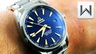 "Omega Seamaster Aqua Terra ""BLUE WAVE"" 231.10.42.21.03.006  Luxury Watch Review"
