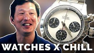 Watches x Chill: Wei Koh and Tim Talk Luxury for Lazing