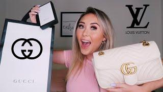 LUXURY/DESIGNER HAUL 2019 || Gucci and Louis Vuitton (I SAVED OVER $700!)