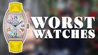 The WORST Luxury Watches // RANT T&H