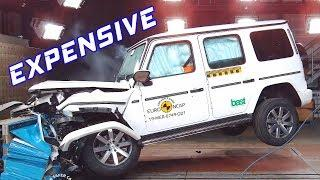 Top 7 Most EXPENSIVE Cars CRASH TEST 2019