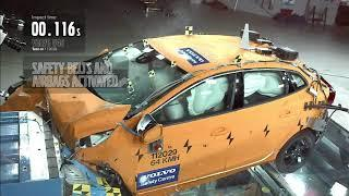 What will happen when your Volvo V40 crashed onto the wall