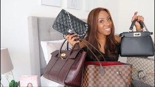 DESIGNER HANDBAG COLLECTION | LUXURY HANDBAGS & DESIGNER DUPES | LOUIS VUITTON, CHANEL, GUCCI, FENDI