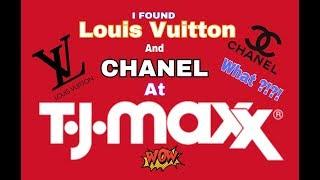 LOUIS VUITTON & CHANEL AT TJMAXX ?!? +1000k Sub Giveaway
