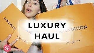 BIG LUXURY SHOPPING HAUL + WHAT I BOUGHT TO LUXE TRAVEL IN