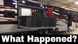 What happened Weekend Warrior Toy Hauler? - Innovation Forward - Luxe luxury Toy Hauler 5th Wheel