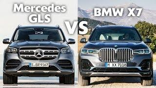 2020 Mercedes-Benz GLS vs BMW X7 - The Ultimate Luxury 7-Seat SUV Battle!