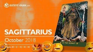 SAGITTARIUS OCTOBER 2018 ???? LUXURY | FINANCIAL AND MATERIAL COMFORTS