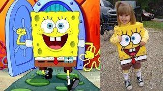 SpongeBob SquarePants Characters Real Life