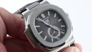 Patek Philippe Nautilus Annual Calendar 5726A-001 Luxury Watch Review