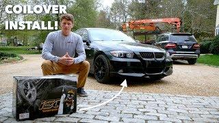 ISC N1 COILOVERS // BMW E90 Installation