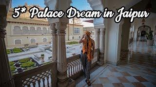 LUXURY LIFE in INDIA | Rambagh Palace in Jaipur 5*