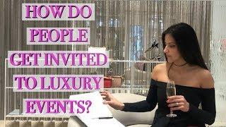 How to Be Invited to Luxury Store Events & Get Champagne at Chanel/Louis Vuitton