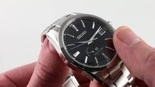 Grand Seiko Spring Drive SBGA101 Luxury Watch Review