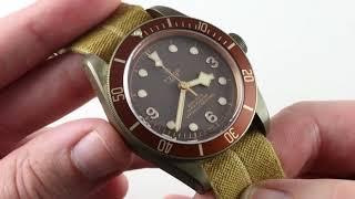 Tudor Heritage Black Bay BRONZE 79250BM Luxury Watch Review