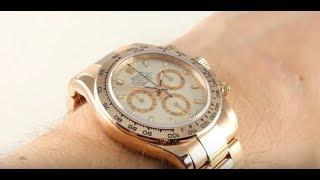 Rolex Cosmograph Daytona 116505 Luxury Watch Review